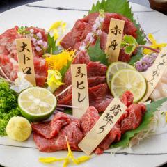お中元 馬刺し 熊本 国産 5種食べ比べセット 約300g 約6人前 馬肉 馬刺 肉 食べ物 ギフト おつまみ