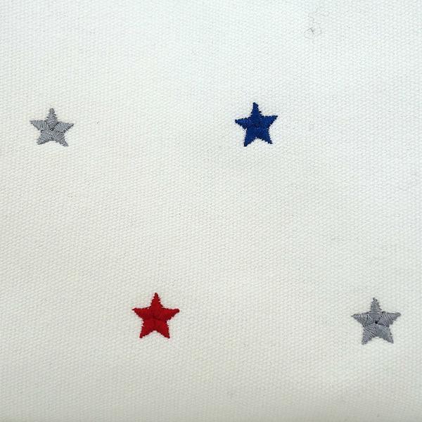 1884 ルートート(ROOTOTE)/ RT LT.デリ.キャンバススター-A(01:グレー)スター 星柄 はっ水加工 ショルダーベルト付き PVC加工