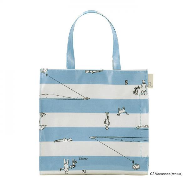 【OUTLET 50%OFF】3213 ルートート(ROOTOTE)/ EU.スクエア.エコラミパターン-D(02:バカンス)