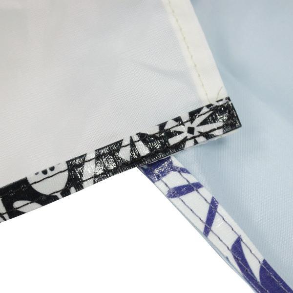3233 ルートート(ROOTOTE)/ EU.スクエア.エコラミパターン-E(01:ブルー)軽量 正方形型 ラミネート加工 トートバッグ ルートート
