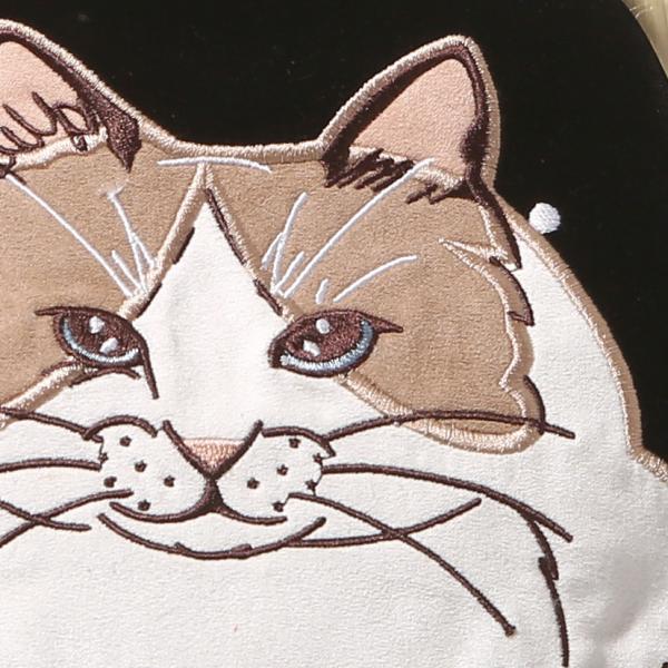 3319 ルートート(ROOTOTE)/ RT EU.デリ.刺繍ガマグチアニマル-A(02:スワン)