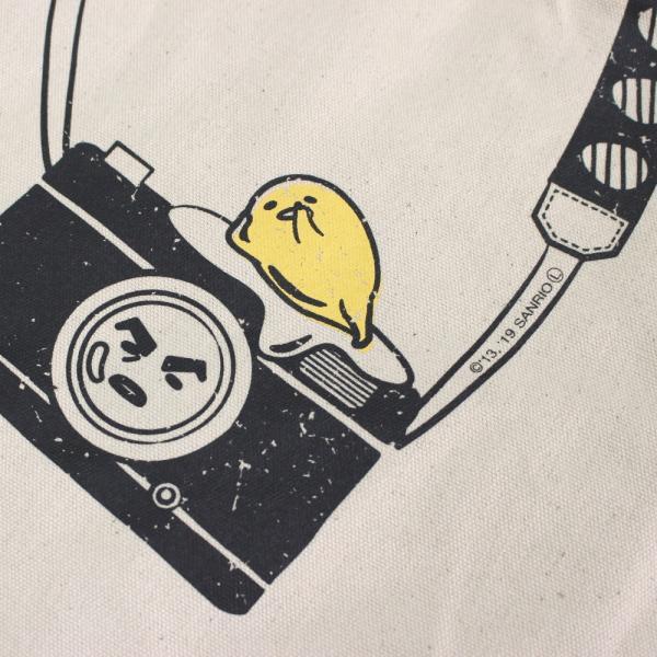 4086 ルートート【大容量トート】/ CJ.グランデ.キャンバス.ぐでたまーA(03:カメラ)
