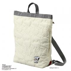 【OUTLET 30%OFF】4423 ルートート (ROOTOTE) / RT SN.セオルー キルト PEANUTS-3Z(02:アイボリー)