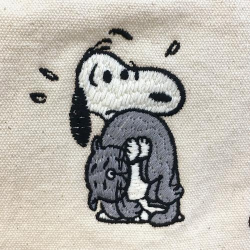 4875 ルートート(ROOTOTE)/RT SCトール 2way刺しゅう PEANUTS(ピーナッツ)-2U(02:カーレッジ))