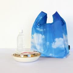 6755 ルートート(ROOTOTE)/ ルーショッパーMID-Lifty-フォト-A(04:サニー)洗濯可能 清潔 エコバッグ お買い物バッグ コンパクト コンビニ 青空 スカイ トートバッグ レディース メンズ ルートート