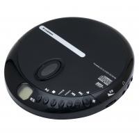 CDプレーヤー ポータブル ブラック AC-P01B エスキュービズム