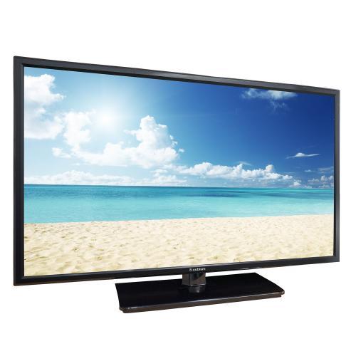 【送料無料】テレビ 24型 1波 外付けHDD録画対応 AT-24C01SR エスキュービズム