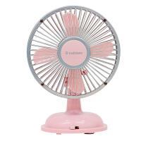 レトロ 扇風機 卓上 ピンク WS-S01PK エスキュービズム