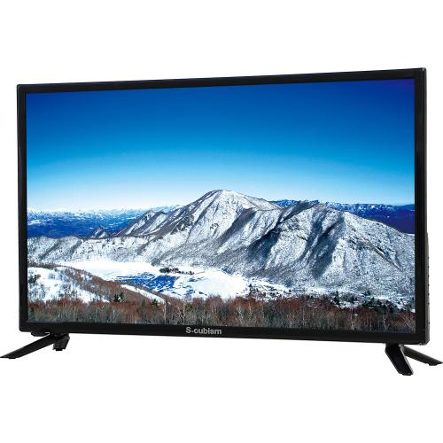 テレビ 24型 1波 外付けHDD録画対応 AT-24C01SR エスキュービズム