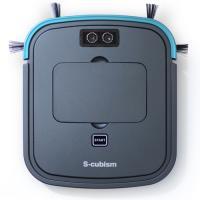 超薄型床用ロボット掃除機 ガンメタリック/ブルーメタリック SCC-R05GM エスキュービズム