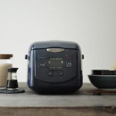 炊飯器 4合 ネイビー SCR-H40N エスキュービズム