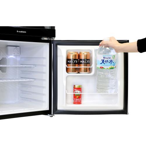 【送料無料】ワイン クーラー 冷蔵庫一体型 SCW-208S エスキュービズム