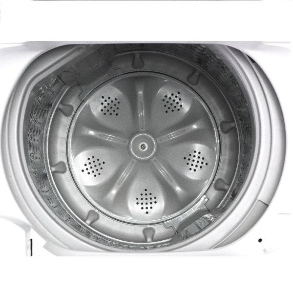 全自動洗濯機 5.0kg ホワイト SWL-050W エスキュービズム 【本体のみ】