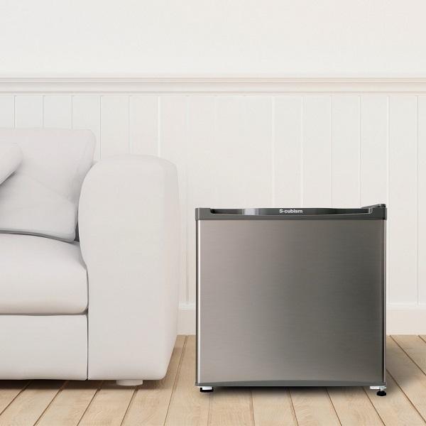 【送料無料】冷凍庫 1ドア 32L シルバー WFR-1032SL エスキュービズム