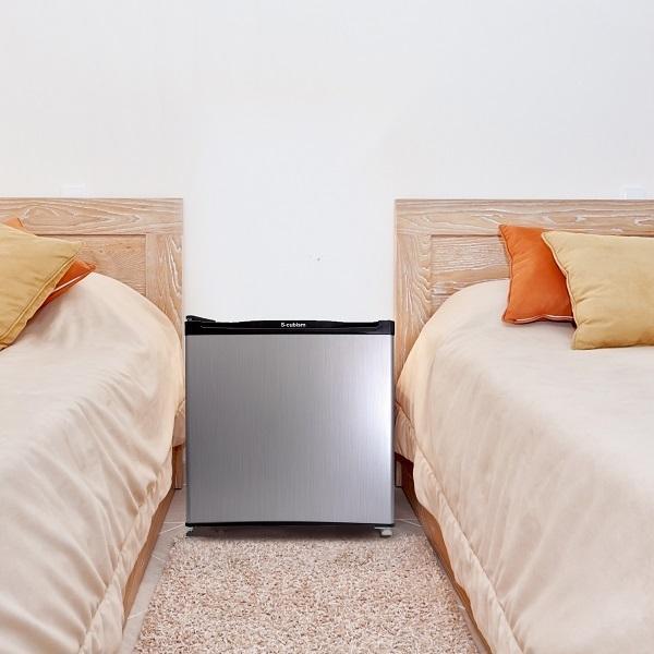 冷蔵庫 1ドア 46L シルバーヘアライン WR-1046SL エスキュービズム