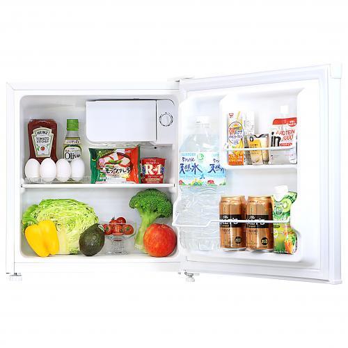 冷蔵庫 1ドア 46L ホワイト WR-1046 エスキュービズム