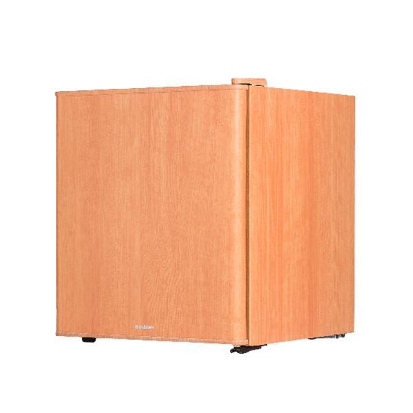 【送料無料】冷蔵庫 1ドア インテリア冷蔵庫 49L ライトウッド