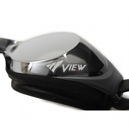 ビュー(VIEW) シリコンミラーゴーグル V610MR BKDSL(Men's)