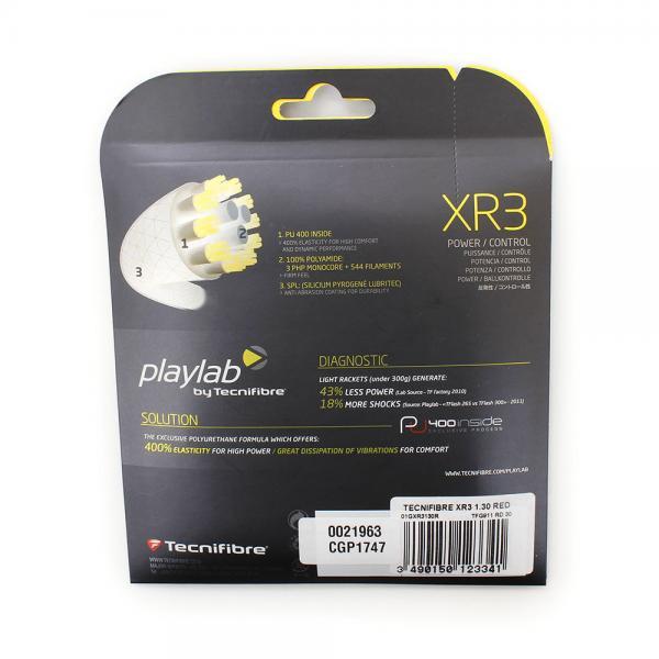 テクニファイバー(Technifibre) 硬式テニスストリング XR3 1.30 TFG911RD30(Men's、Lady's、Jr)