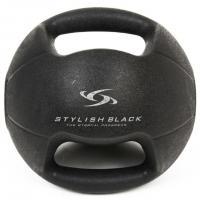 スタイリッシュブラック(STYLISH BLACK) メディシンボールハード 3Kg 841W3HI1481BK(Men's)