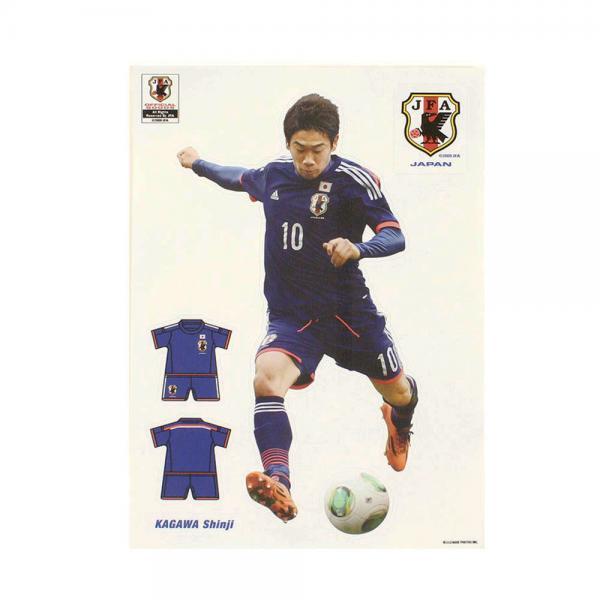 メーカーブランド(BRAND) JFA キャラペタ ステッカー M 香川 NS007(Men's、Lady's、Jr)