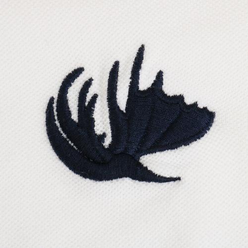 エルケクス(ELKEX) ワンポイント ポロシャツ 863EK5CD4557WHT(Men's)