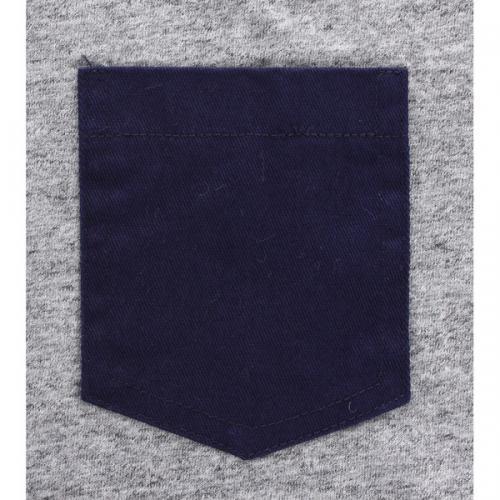 エルケクス(ELKEX) INDIGO HENLEY-Tシャツ 863EK5UK4473MGRY **(Men's)