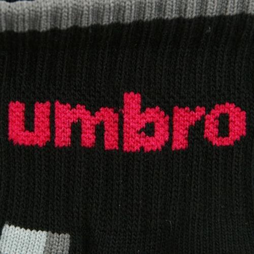 アンブロ(UMBRO) ゼビオ限定 デザインソックス 25~27cm(3足組) UCS8441X CBLK27(Men's)