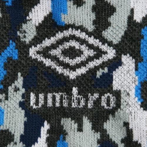 アンブロ(UMBRO) ゼビオ限定 デザインアンクルソックス 27~29cm 3足組 UCS8552X BKAM29 (Men's)