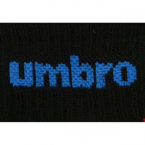 アンブロ(UMBRO) ゼビオ限定 デザインソックス 21~23cm 3足組 UCS8441X CBLK23(Lady's)