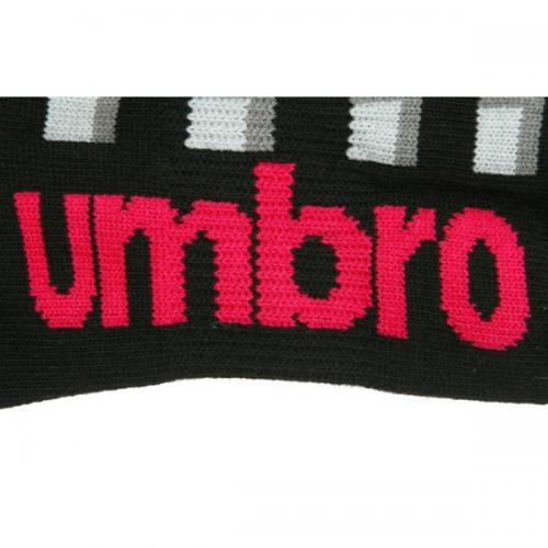 アンブロ(UMBRO) ゼビオ限定 デザインアンクルソックス 23~25cm 3足組 UCS8443X CBLK25(Lady's)