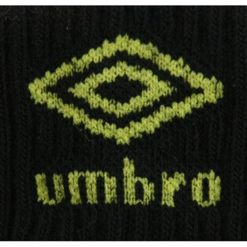 アンブロ(UMBRO) ゼビオ限定 デザインソックス 19cm~21cm 3足組 UCS8550X BDOT21(Jr)