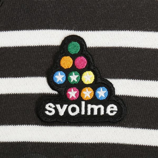 スヴォルメ(SVOLME) ボーダークルーパーカー 153-57811SUMI (Men's)