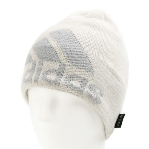 アディダス(adidas) ニット ロゴビーニー AA2115-QW939GRY **(Lady's)