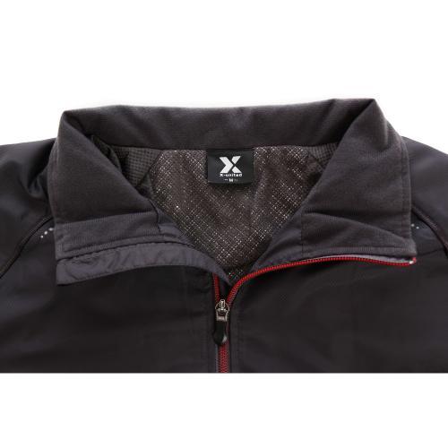 エックスユナイテッド(X-united) 絶耐撥水 マジックサーモ 裏起毛メッシュジャケット 854X5TJ5318 CGRY(Men's)