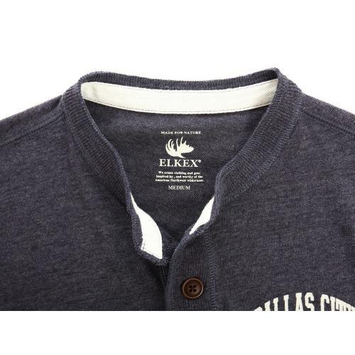 エルケクス(ELKEX) 長袖Tシャツ 863EK5CD5866NVY(Men's)