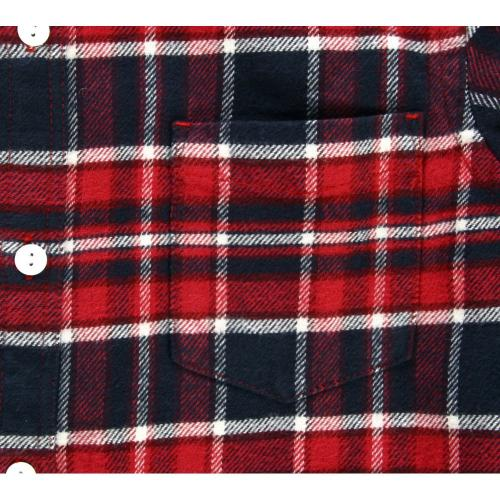 エルケクス(ELKEX) フランネルチェックシャツ 863EK5TH5900REWH(Men's)