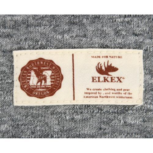 エルケクス(ELKEX) ロングスリーブシャツ 863EK5XI5897MGRY(Men's)
