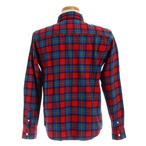 エルケクス(ELKEX) フランネル チェックシャツ 863EK5CG5920 REBL(Men's)