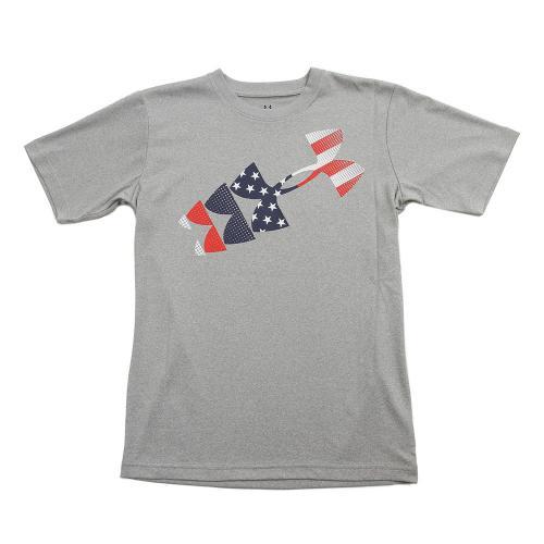 アンダーアーマー(UNDER ARMOUR) テック ヒートギア 半袖Tシャツ COUNTRY PRIDE #BTR2710 TRH AT(Jr)