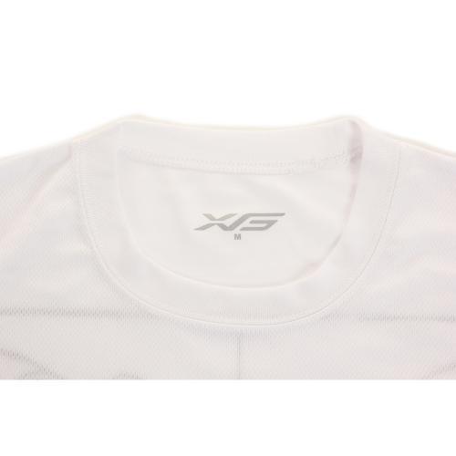 エックスティーエス(XTS) ドライプラス 長袖メッセージTシャツ 751G5ES2737 WHT(Men's)