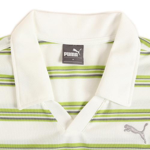 プーマ(PUMA) ゼビオ限定 スキッパー半袖ポロシャツ 920504 04 WHT (Men's)