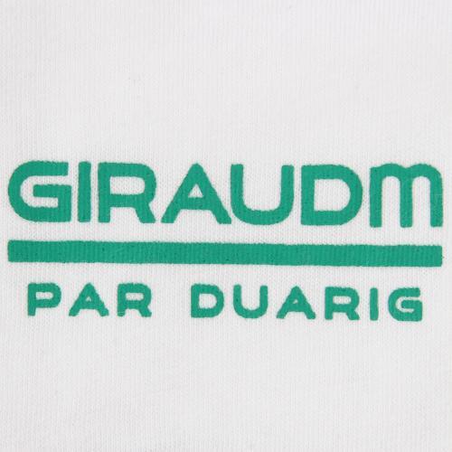 ジローム(GIRAUDM) TC 天竺 半袖Tシャツ 863DG6CD5105 WHT