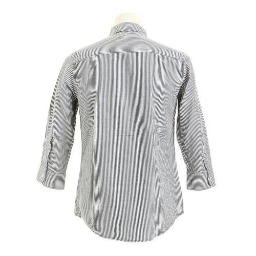エックスタイル(Xtyle) ACL シャンブレー 7分袖シャツ 871C6XU6125IBLU(Men's)