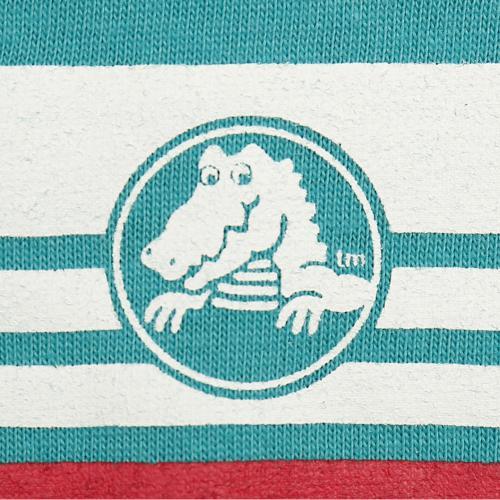 クロックス(crocs) 胸ラインTシャツ cr115190GN16S(Jr)