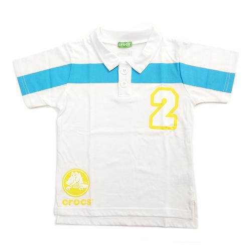 クロックス(crocs) ポロシャツ cr116180WT16S(Jr)