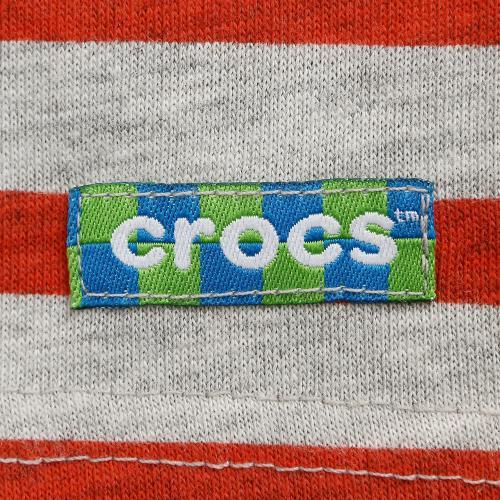 クロックス(crocs) 【オンラインストア限定SALE!】 ボーダーTシャツ cr116377RD16S(Jr)