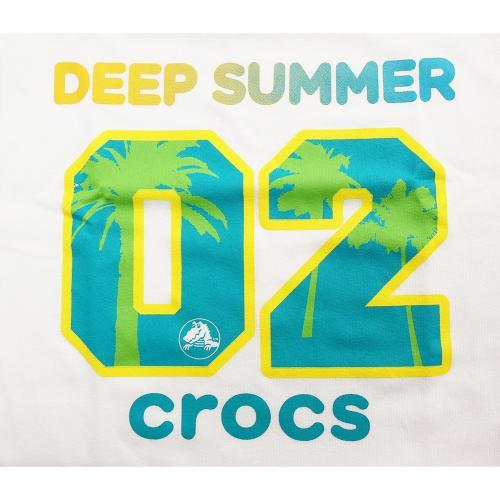 クロックス(crocs) ナンバーTシャツ cr116378BL16S(Jr)