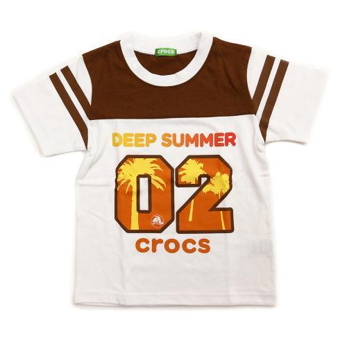 クロックス(crocs) ナンバーTシャツ cr116378BN16S(Jr)