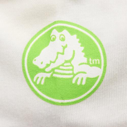 クロックス(crocs) ヤシの木柄Tシャツ cr116379WT16S(Jr)